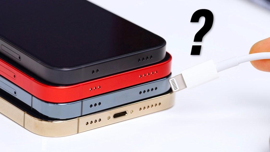 Kommer iPhone 14 sakna portar helt och hållet?