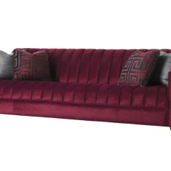 Index Mulberry Sofa Bed Retro Modern Leather Canapé
