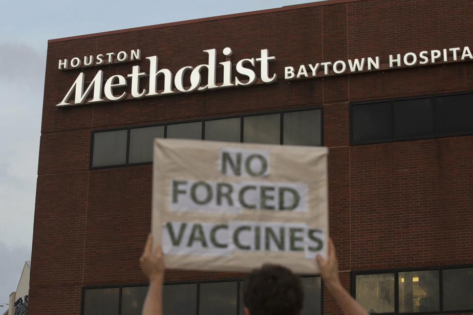 Vaccination obligatoire | 150 employés forcés de quitter leur poste dans un hôpital de Houston