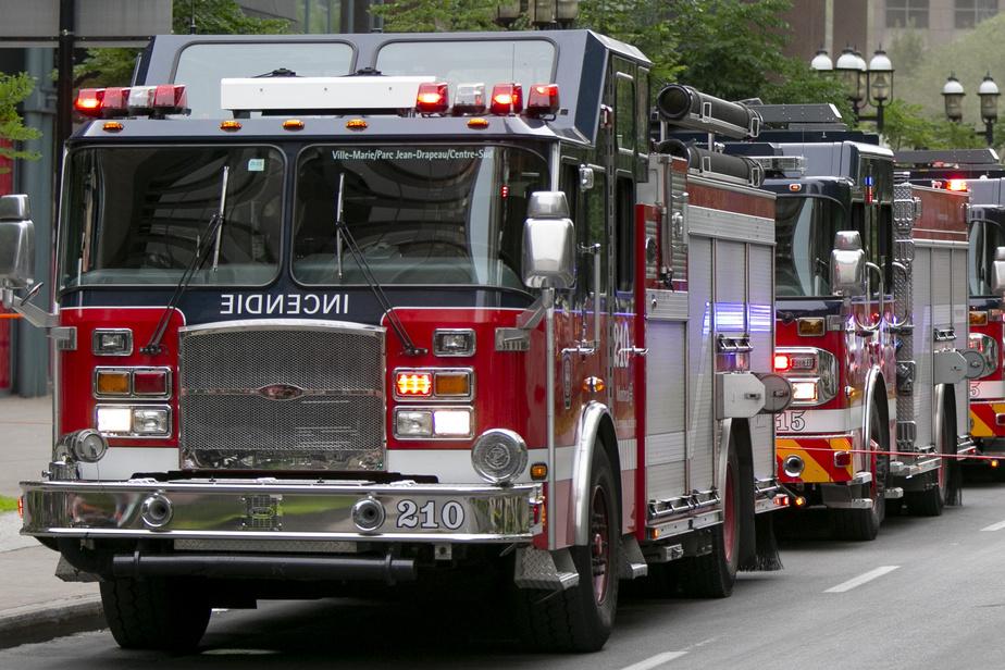Un incendie se déclare dans un bâtiment résidentiel de Rosemont