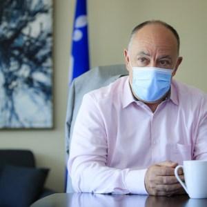 Un an sous Christian Dubé   Un ministre face à son «monstre»