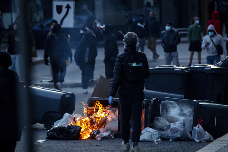 Le message antiracisme résonne plus fort que la casse à Montréal