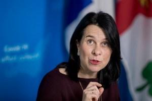 Valérie Plante évoque l'annulation du Grand Prix de Montréal pour 2021