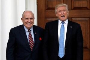 Trump juge «très injuste» la perquisition chez Rudy Giuliani