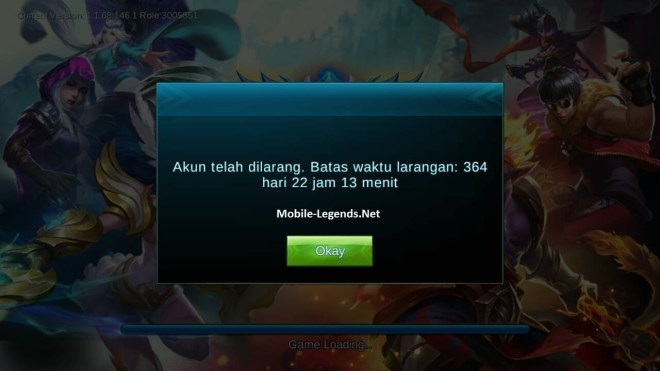 why am i banned? 2020 - mobile legends