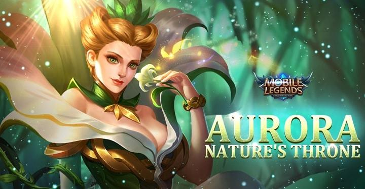 New Hero Aurora Patch Notes 1180 2018 Mobile Legends