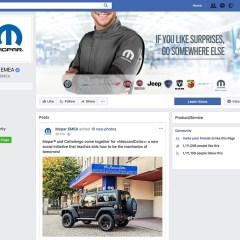 Mopar® lockt auf der SEMA mit einigen der über 200 neuen Jeep® Performance Parts und mit Zubehör für den neuen Jeep Wrangler des Modelljahres 2018