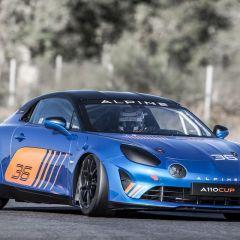 Alpine A110 Cup: neuer Markenpokal-Rennwagen geht 2018 an den Start