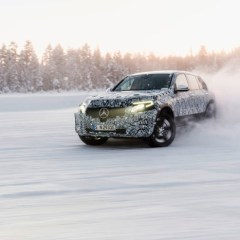Mercedes-Benz EQC und GLC F-CELL