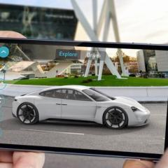 "Porsche präsentiert ""Mission E Augmented Reality"" App"