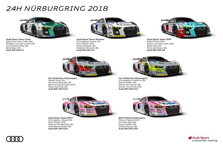 rößtes Festival des Jahres für Audi Sport customer racing