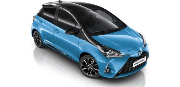 Der neue Toyota Yaris Splash Hybrid