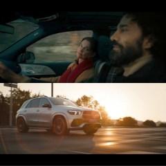 """Mercedes-Benz GLE Kampagne: """"Jeder zurückgelegte Weg stärkt Dich"""""""