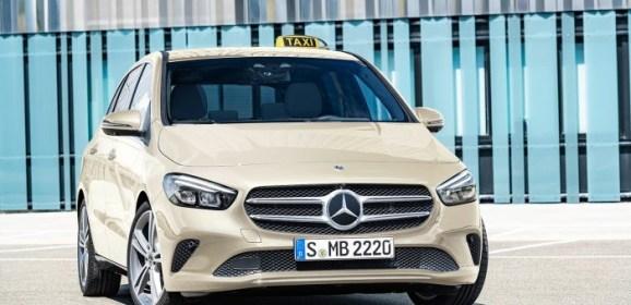 Verkaufsfreigabe Sondermodell B-Klasse «Das Taxi»