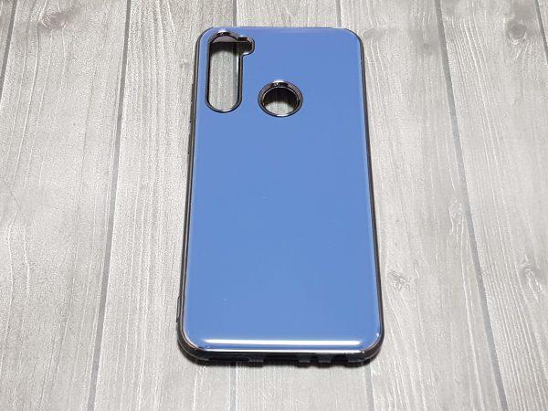 Силиконовая накладка Xiaomi Redmi Note 8T однотонная - синяя
