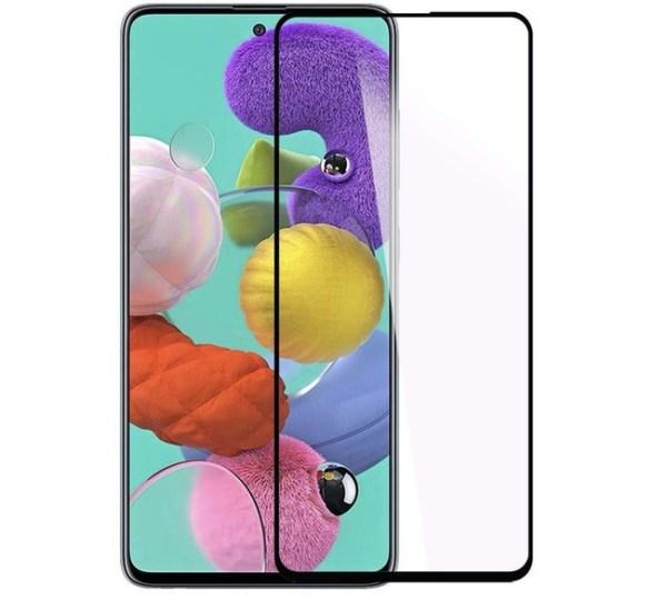 Защитное стекло Full Glue Samsung Galaxy A51