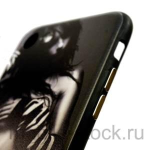 "Чехол с рисунком ""Девушка"" для iPhone 7 | iPhone 8"