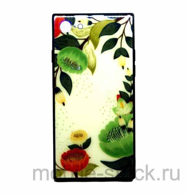 Чехол из оргстекла с цветами для iPhone 7 | iPhone 8