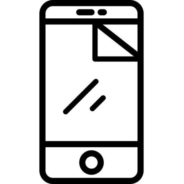 Наклейка стекла на телефон или планшет - Мобильные штучки