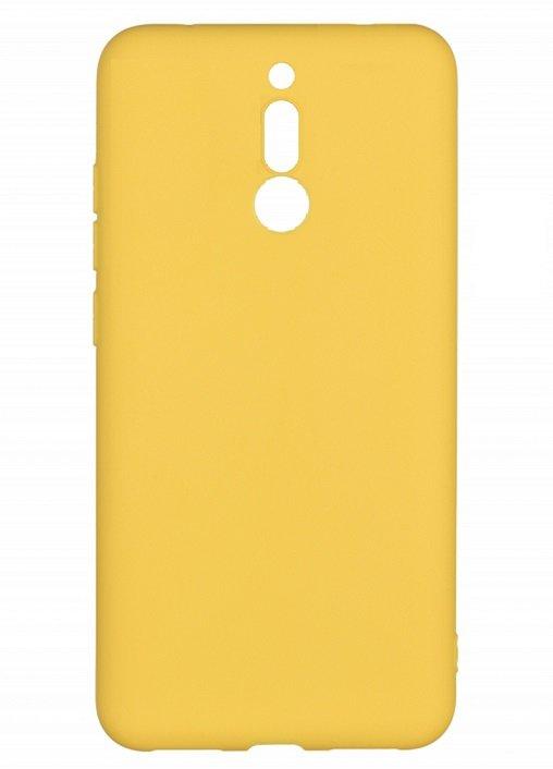 Жёлтый бампер для Xiaomi Redmi 8