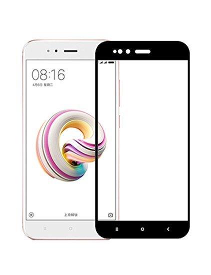 Защитное стекло 5D Xiaomi Mi A1 черное