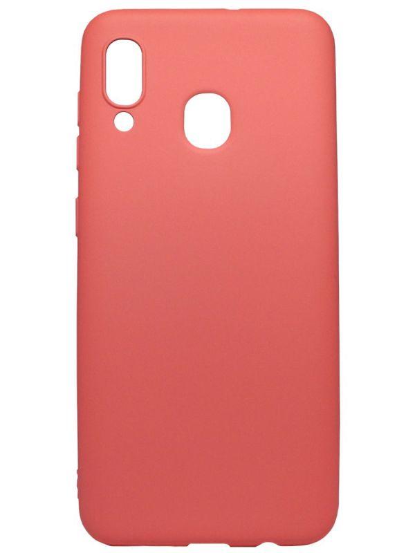 Чехол Soft Touch для Samsung Galaxy A20 | A30 кораловый