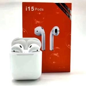 Bluetooth наушники i15 Pods