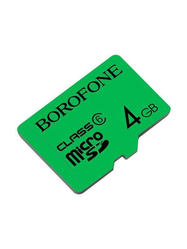 Карта памяти Borofone 6 class 4 GB