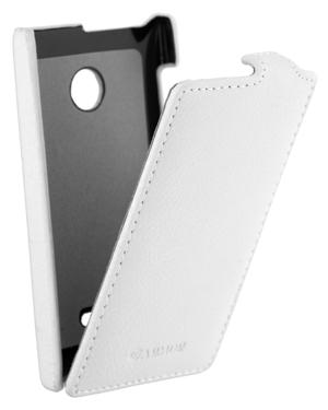 Флип-кейс ARMOR для Nokia Lumia 435 белый