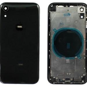 Корпус для iPhone XR High Copy черный в сборе