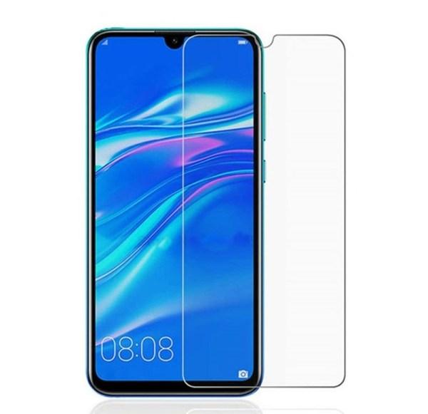 Защитное стекло прозрачное 2D для Huawei Y7 2019