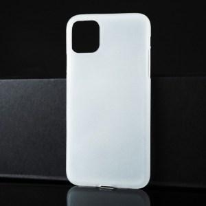 Матовый прозрачный силиконовый чехол для iPhone 11