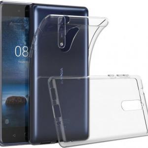 Чехол силиконовый прозрачный для Nokia 5.1
