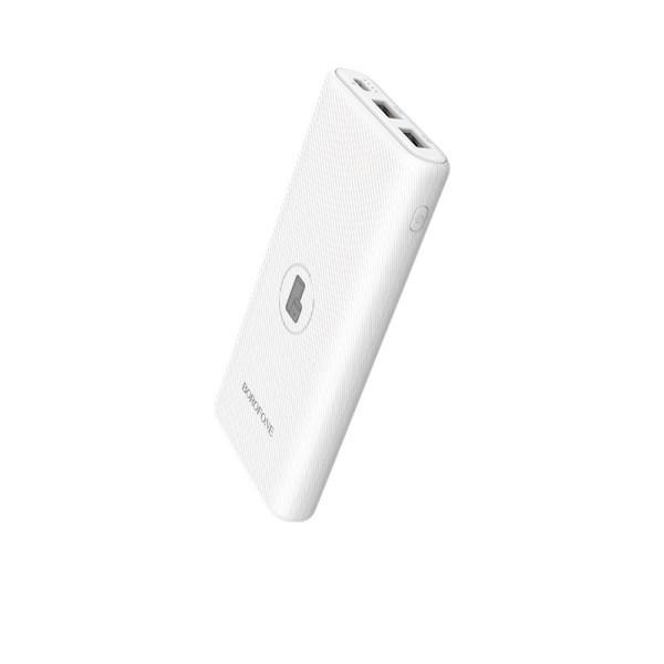 Портативный аккумулятор Borofone BT31 10000 mAh белый