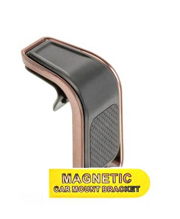 Держатель магнитный в дефлектор H-CT358 медный цвет