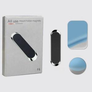 Магнитный универсальный держатель F6 для телефона на панель