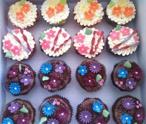 Cupcake-Blueten