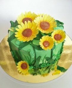 Torte-Sonnenblumen2