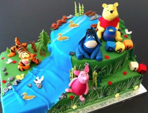 Winni pooh co mobile tortenwerkstatt for Winnie pooh kuchen deko