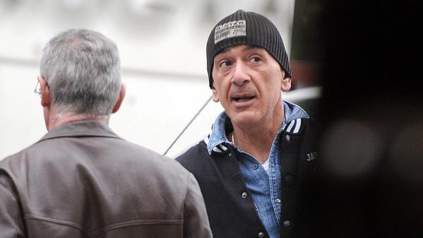 Gilles Bénichou aux abords du tribunal correctionnel de Lyon (Rhône), le 8 avril 2014.
