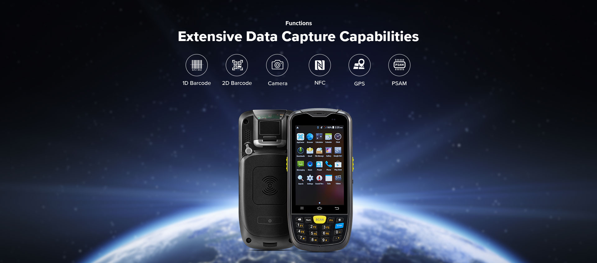 C6000 Rugged Handheld Computer Android - Data capture