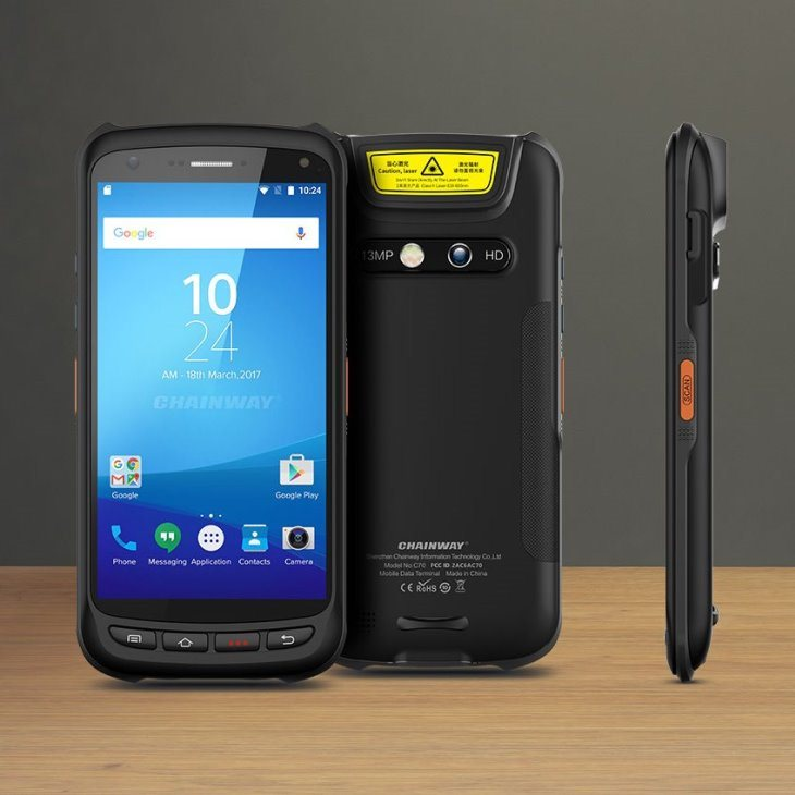 C70 - Android Rugged Mobile Phone - insieme
