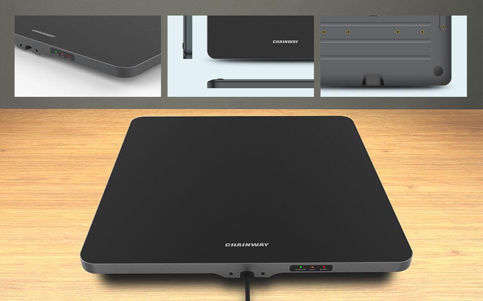 R3 - Desktop RFID UHF Pad Antenna Reader - tavolo