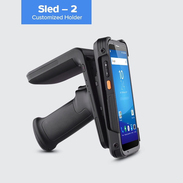 R6 - RFID UHF Sled Reader per smart-phone by RFID Global (3)