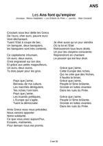 Armstrong Je Ne Suis Pas Noir Paroles : armstrong, paroles, Chants