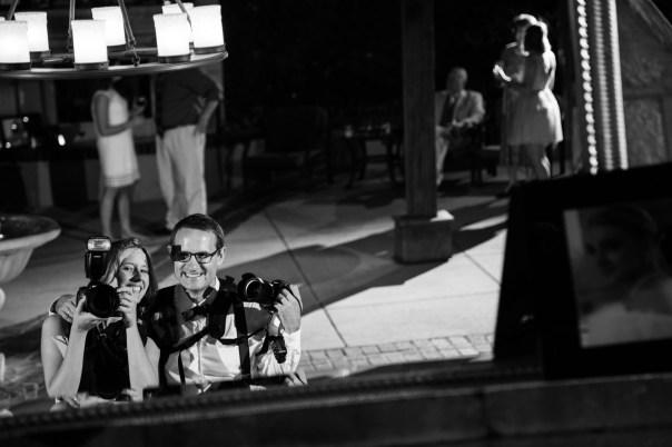 Photographers take a selfie