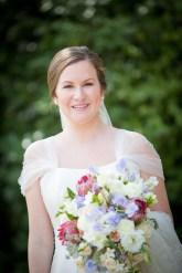 A timeless portrait of an elegant bride