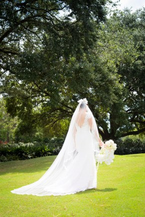 Bride on a summer day