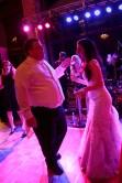 Bride and groom own the dance floor