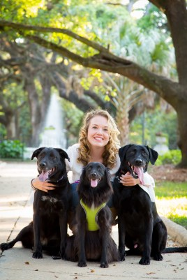 There is no better gift for a loved one than a beautiful portrait. There is no better time and place for portraiture than late afternoon under the live oaks in Oakleigh's Washington Square Park.